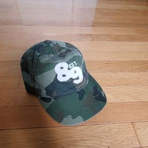 Adjustable Camoflauge ballcap
